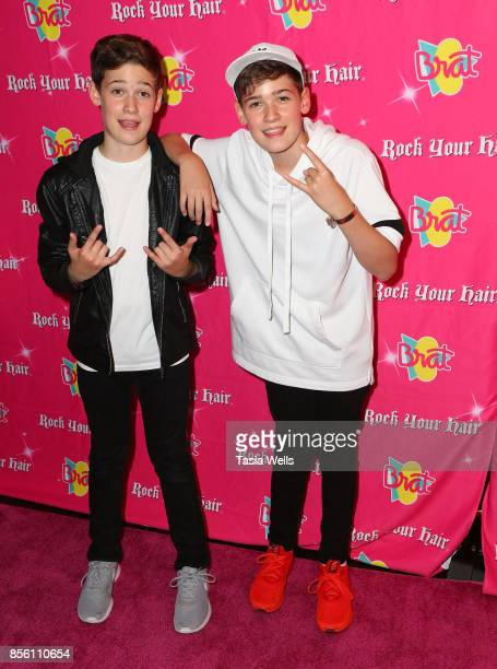Max Harvey at Rock Your Hair Presents Rock Back to School concert and party on September 30 2017 in Los Angeles California