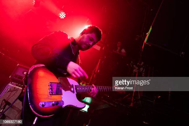 Max Helyer of You Me At Six performs at The Academy on November 18 2018 in Dublin Ireland