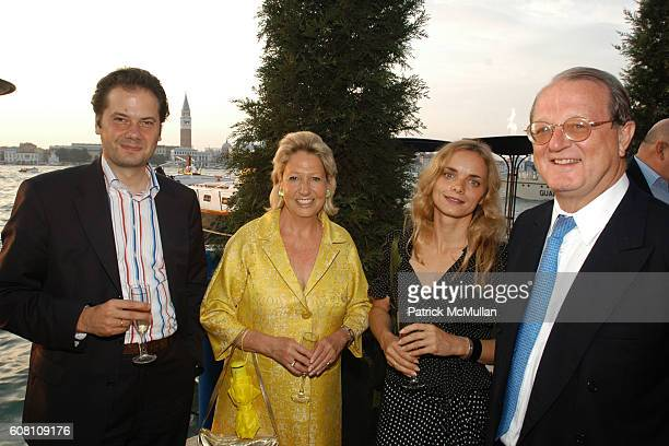 Max Hollein, Beatrix Medinger, Nina Holland and Greg ? attend STELLA KESAEV Of STELLA ART FOUNDATION Hosts Cocoktail And Exclusive Concert Of Italian...