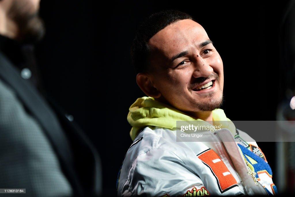 UFC 236: Holloway v Poirier 2: Press Conference : News Photo