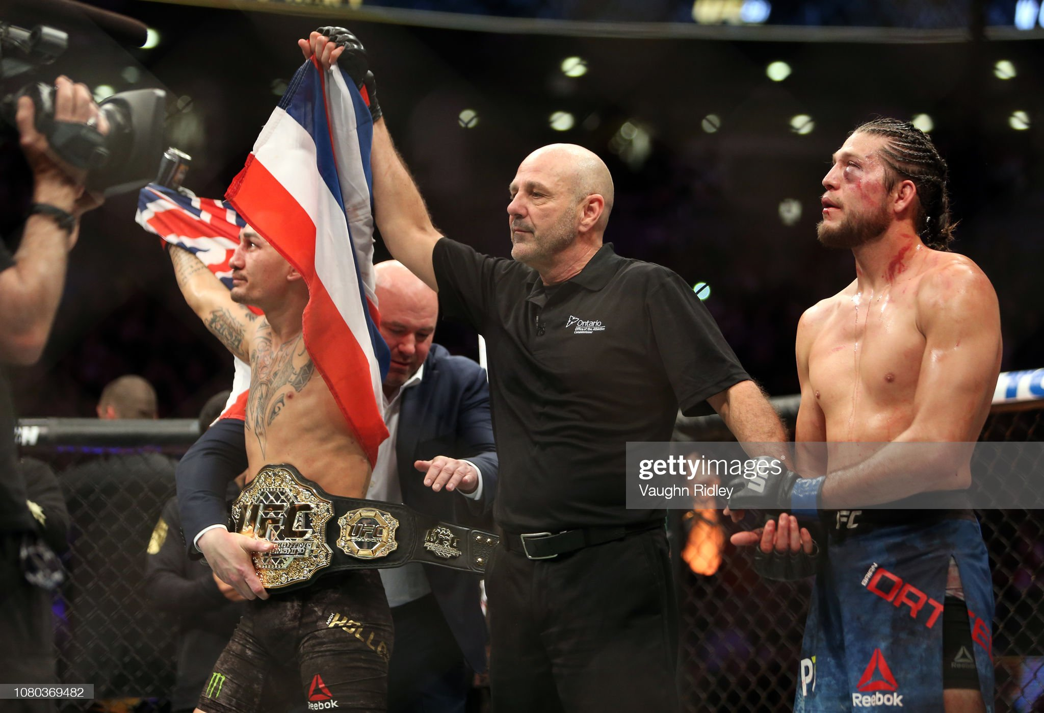 UFC 231 Holloway v Ortega : News Photo