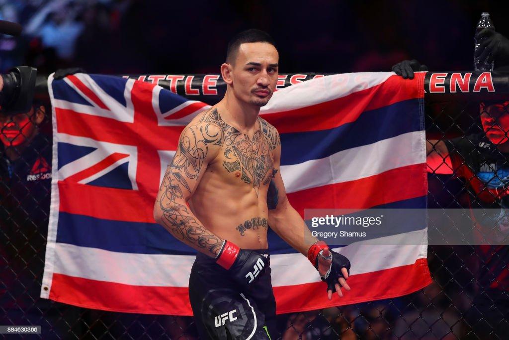 UFC 218: Holloway v Aldo : News Photo