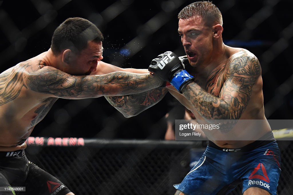 UFC 236 Holloway v Poirier 2 : News Photo