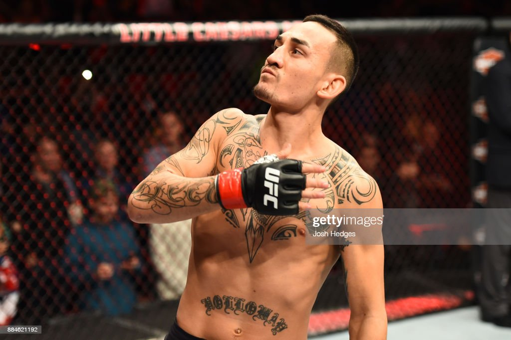 UFC 218: Holloway v Aldo 2 : News Photo