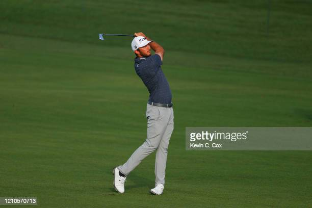 Max Homa of the United States plays a shot on the 11th hole during the first round of the Arnold Palmer Invitational Presented by MasterCard at the...