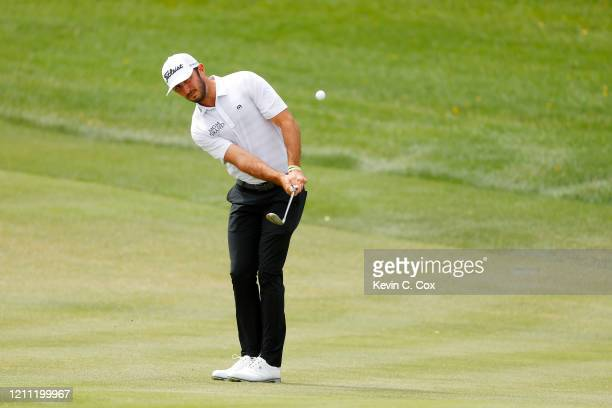 Max Homa of the United States plays a shot on the second hole during the final round of the Arnold Palmer Invitational Presented by MasterCard at the...