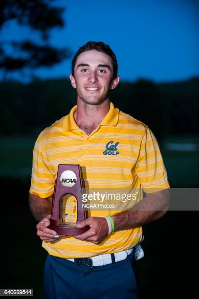 Max Homa of the University of California after winning the Division I Men's Golf Championship held at the Capital City Club's Crabapple Course in...