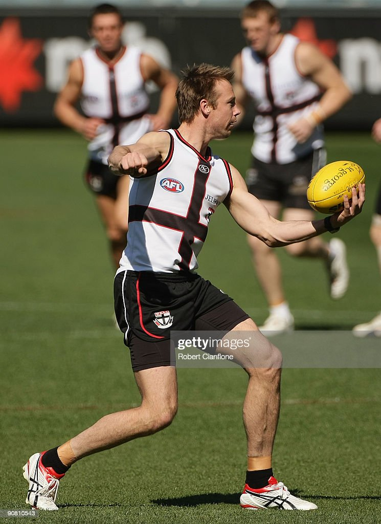 St Kilda Training Session