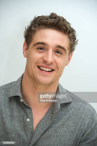 Max Irons at The Host Press Conference at the Four Seasons Hotel on March 16 2013 in Beverly Hills California