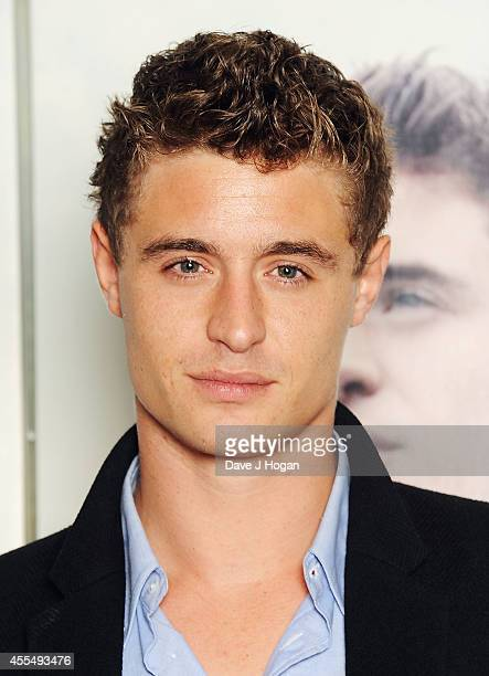 Max Irons attends a photocall for the film 'The Riot Club' at The BFI Southbank London on September 15 2014 in London England