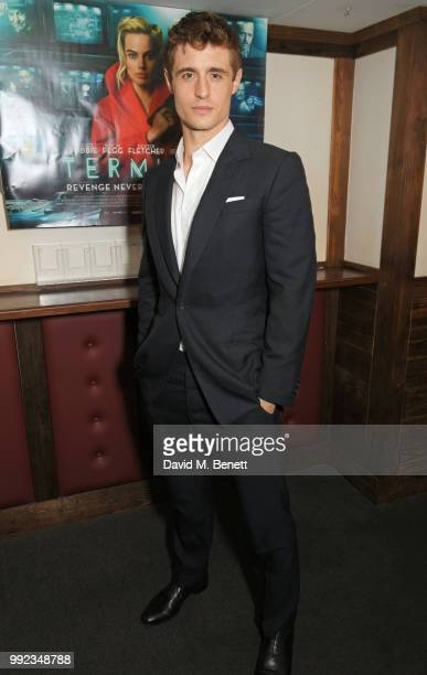 Max Irons attends a special screening of Terminal at Prince Charles Cinema on July 5 2018 in London England