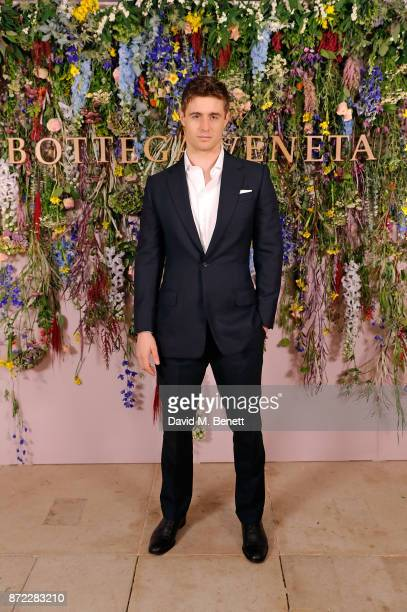 Max Irons attends Bottega Veneta's 'The Hand of the Artisan Cocktail Dinner' at Chiswick House And Gardens on November 9 2017 in London England