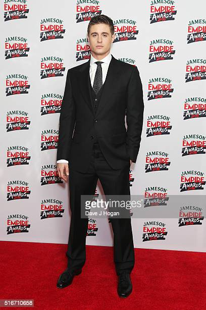 Max Irons attends the Jameson Empire Awards 2016 at The Grosvenor House Hotel on March 20 2016 in London England