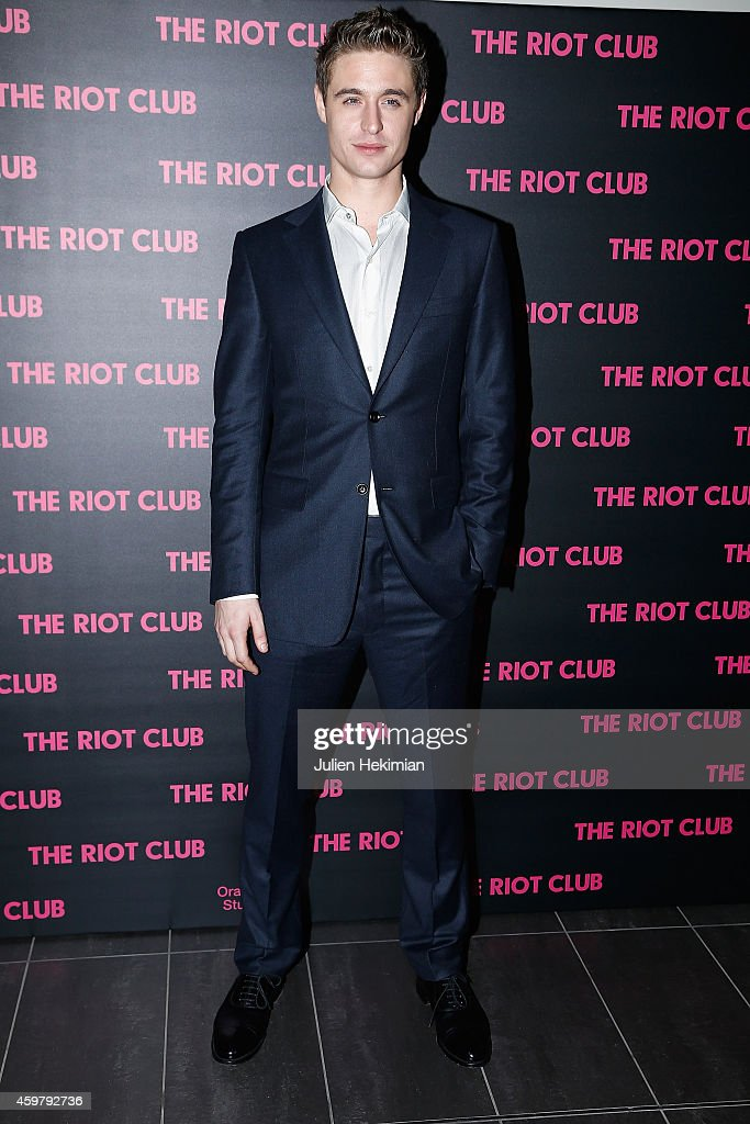 'The Riot Club' Paris Premiere At MK2 Bibliotheque : News Photo