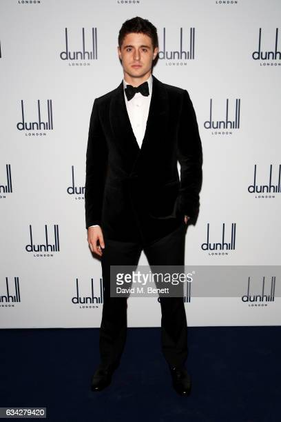 Max Irons wearing dunhill attends the dunhill and Dylan Jones preBAFTA dinner and cocktail reception celebrating Gentlemen in Film at Bourdon House...