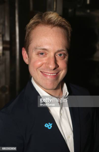 Max Jenkins poses at An American Daughter Benefit Reading at The Tony Kiser Second Stage Theatre on May 8 2017 in New York City