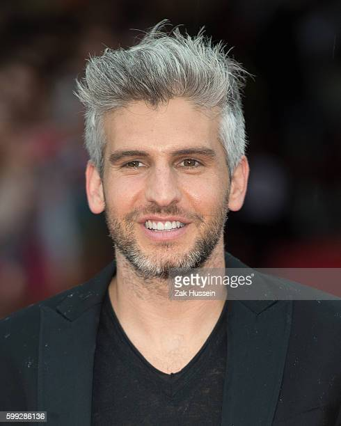 Max Joseph arriving at the European Premiere of We Are Your Friends at the Ritzy Brixton in London