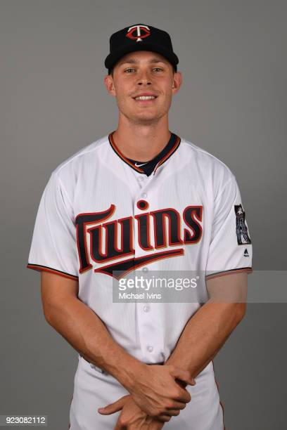 Max Kepler of the Minnesota Twins poses during Photo Day on Wednesday February 21 2018 at CenturyLink Sports Complex in Fort Myers Florida