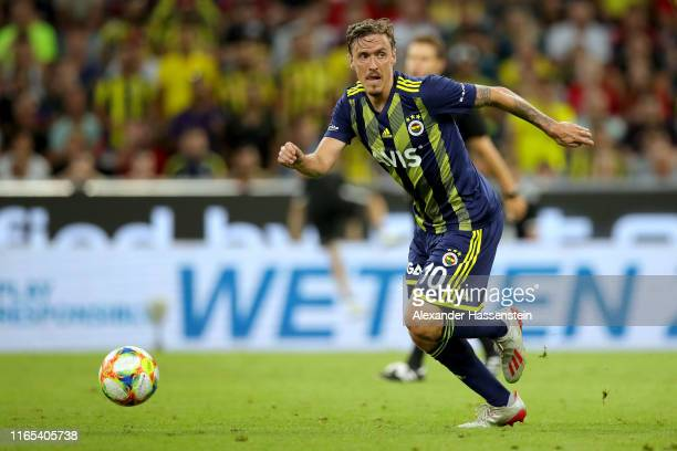 Max Kruse of Fenerbahce runs with the ball during the Audi cup 2019 semi final match between FC Bayern Muenchen and Fenerbahce at Allianz Arena on...