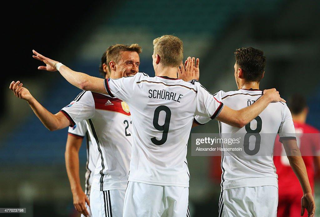 Gibraltar v Germany - UEFA EURO 2016 Qualifier : News Photo