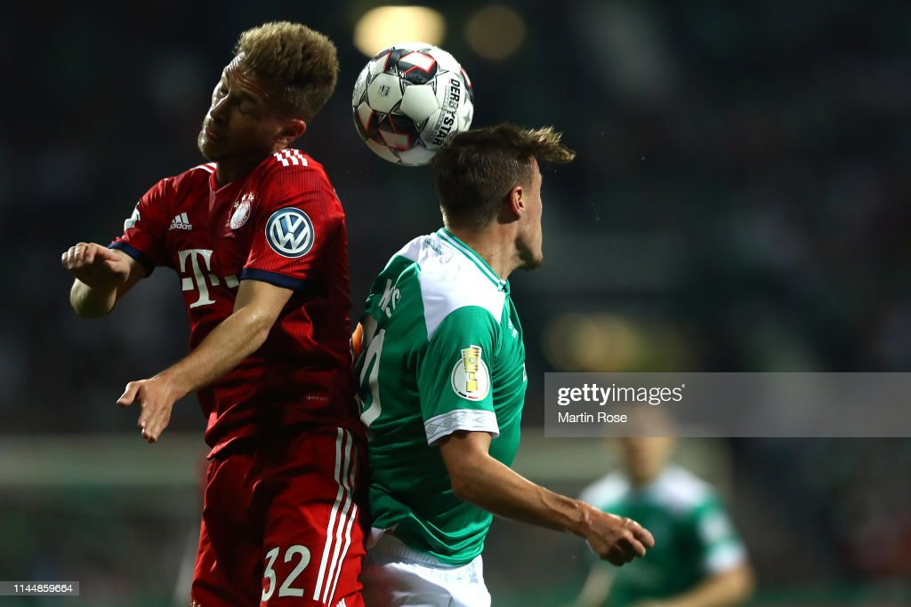 Werder Bremen v FC Bayern Muenchen - DFB Cup : News Photo