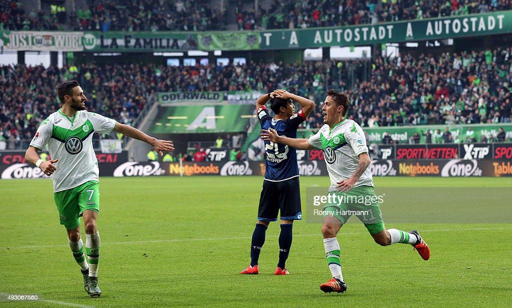 VfL Wolfsburg v 1899 Hoffenheim - Bundesliga : News Photo