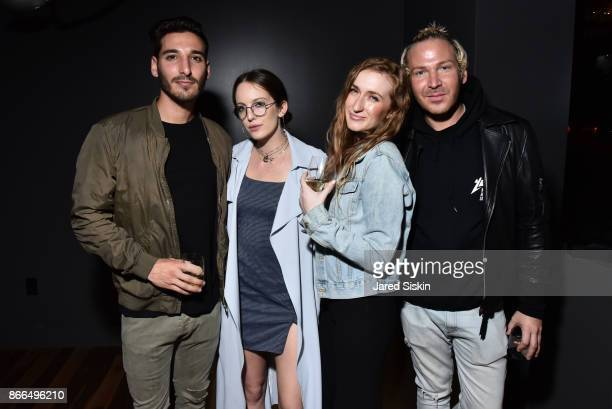 Max Kurtzman Eleanor Lambert Alana Sev and Drew Hunter attend The Cinema Society Avion host a reception for DreamWorks and Universal Pictures' 'Thank...