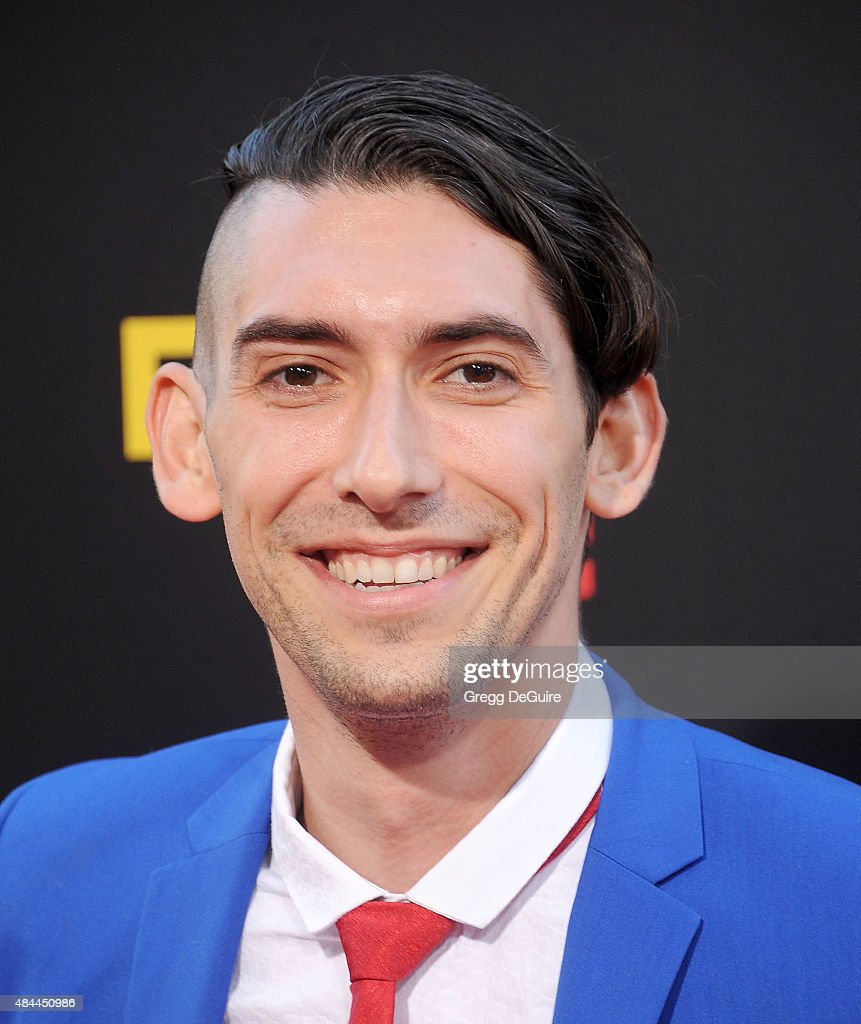Max Landis arrives at the premiere of Lionsgate's 'American Ultra' at Ace Theater Downtown LA on August 18, 2015 in Los Angeles, California.