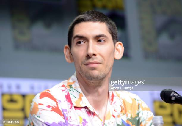 Max Landis at Dirk Gently's Holistic Detective Agency: BBC America Official Panel during Comic-Con International 2017 at San Diego Convention Center...