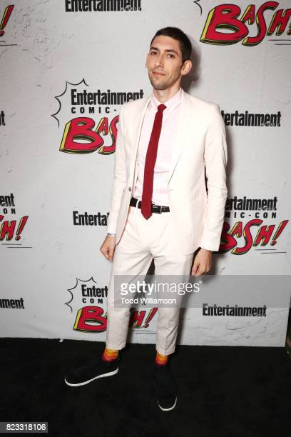 Max Landis at Entertainment Weekly's annual Comic-Con party in celebration of Comic-Con 2017 at Float at Hard Rock Hotel San Diego on July 22, 2017...