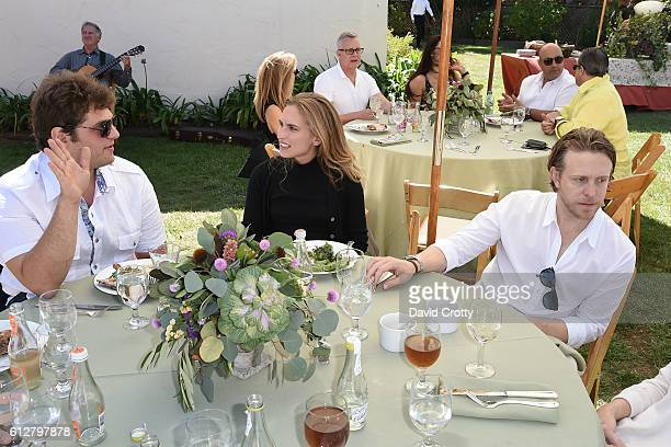 Max Loeb Ashley Bush and Ken Howery attend Hearst Castle Preservation Foundation Annual Benefit Weekend 2016 Luncheon at Piedra Blanca Rancho at...