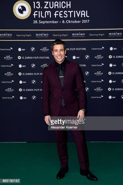 Max Loong attends the opening ceremony and 'Borg vs McEnroe' premiere at the 13th Zurich Film Festival on September 28 2017 in Zurich Switzerland The...