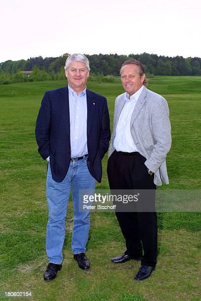 Max Lorenz Arie Haan bei GolfTurnier für 'Uwe SeelerStiftung' Achim 'Achimer Golfclub' Golfplatz