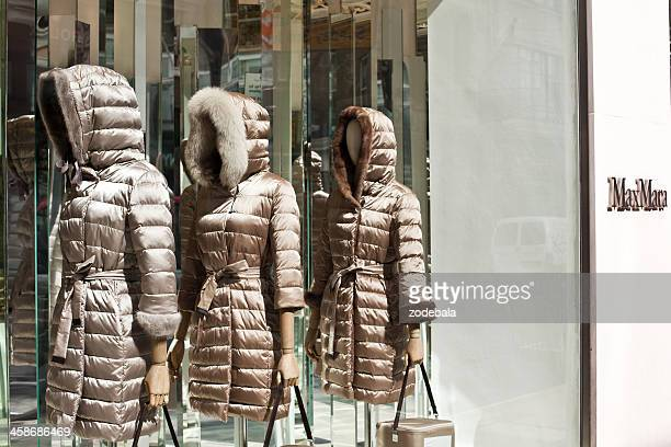 Max Mara Store and Mannequins in London