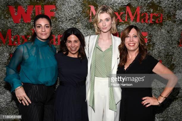 Max Mara VP US Retail Maria Giulia Maramotti, Amy Baer, Elizabeth Debicki, and Executive Director of Women In Film Kirsten Schaffer attend the 2019...