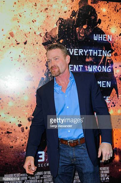 Max Martini attends Miami Special Screening of '13 Hours The Secret Soldiers of Benghazi ' at Aventura Mall on January 7 2016 in Miami Florida