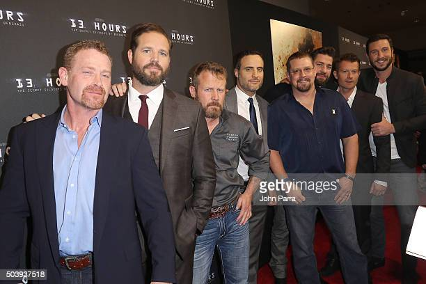 Max Martini David Denman Coauthor of '13 Hours' Mark 'Oz' Geist Dominic Fumusa Coauthor of '13 Hours' John 'Tig' Tiegen John Krasinski James Badge...
