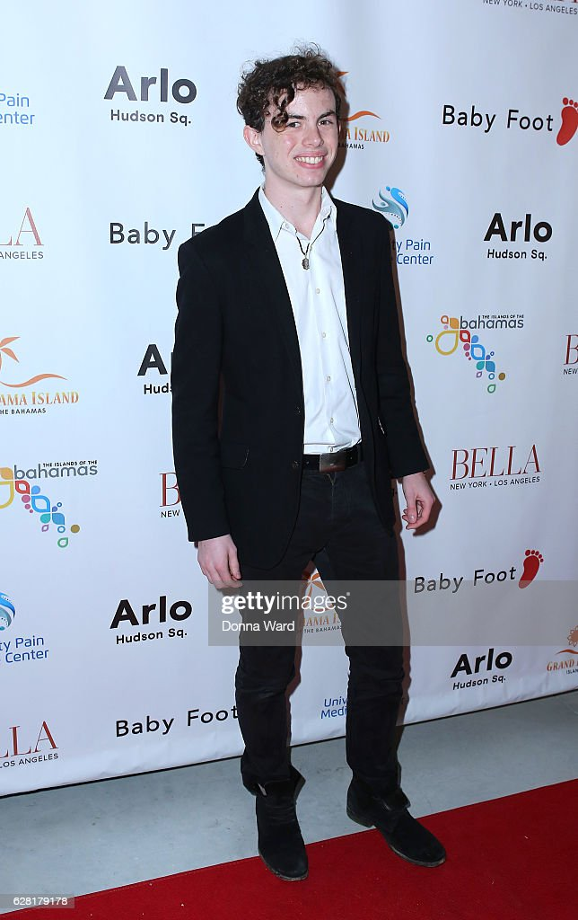 Max McKenzie appears to celebrate the BELLA New York Holiday Issue Cover Party and Holiday Shopping Event on December 6, 2016 in New York City.