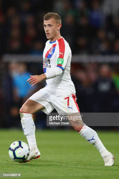 Max Meyer of Crystal Palace during the Premier League match between AFC Bournemouth and Crystal Palace at Vitality Stadium on October 1 2018 in...