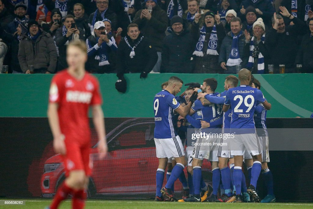 FC Schalke 04 v 1. FC Koeln - DFB Cup