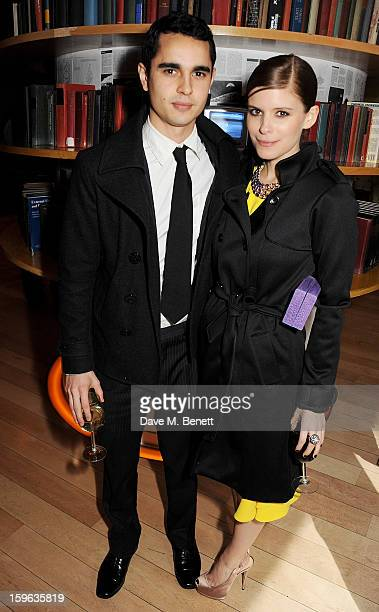 Max Minghella and Kate Mara attend an after party celebrating the Red Carpet Premiere of the Netflix original series 'House of Cards' at Asia de Cuba...