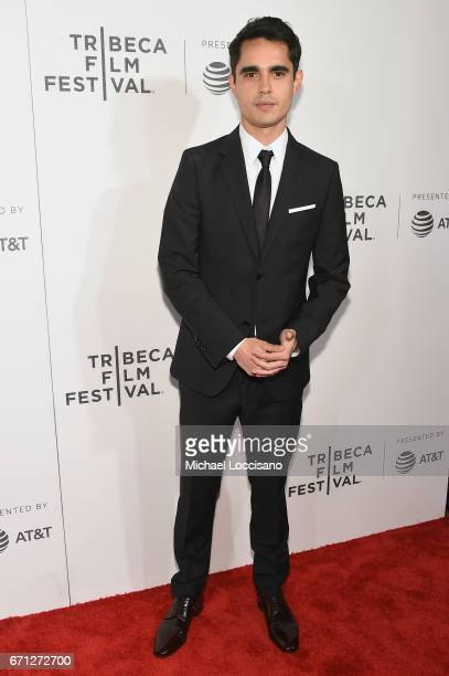 Max Minghella attends The Handmaid's Tale Premiere at BMCC Tribeca PAC on April 21 2017 in New York City