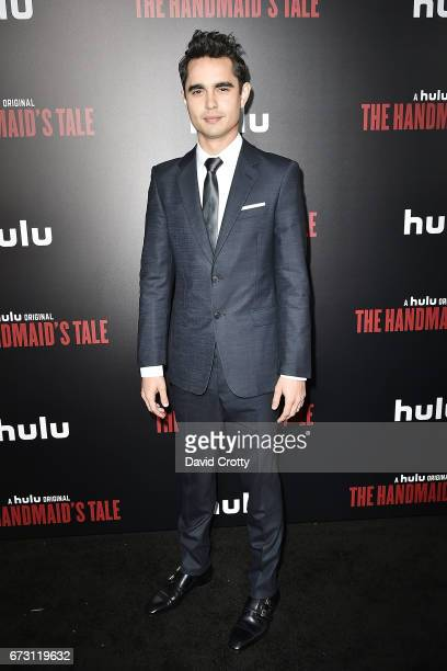 Max Minghella attends the Premiere Of Hulu's 'The Handmaid's Tale' Arrivals at The Dome at Arclight Hollywood on April 25 2017 in Hollywood California
