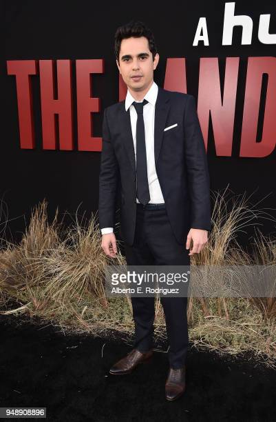 Max Minghella attends the season 2 premiere of Hulu's The Handmaid's Tale at the TCL Chinese Theatre on April 19 2018 in Hollywood California