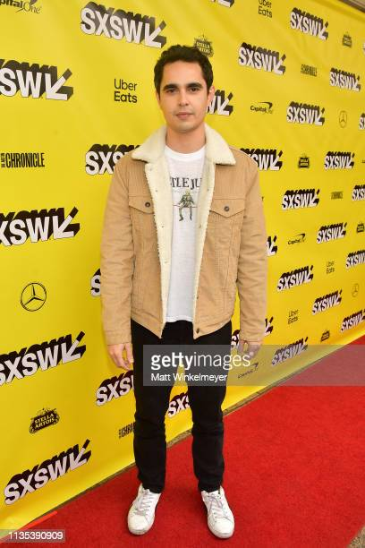Max Minghella attends the Teen Spirit Premiere 2019 SXSW Conference and Festivals at Paramount Theatre on March 12 2019 in Austin Texas
