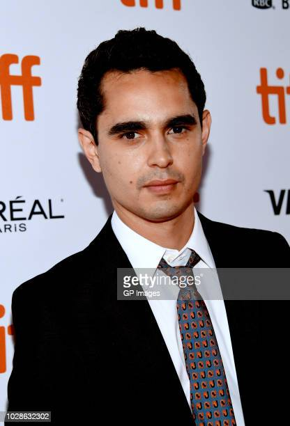 Max Minghella attends the Teen Spirit premiere during 2018 Toronto International Film Festival at Ryerson Theatre on September 7 2018 in Toronto...