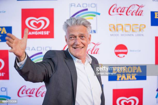 Max Moor attends the Radio Regenbogen Award 2017 at Europapark on April 7 2017 in Rust Germany