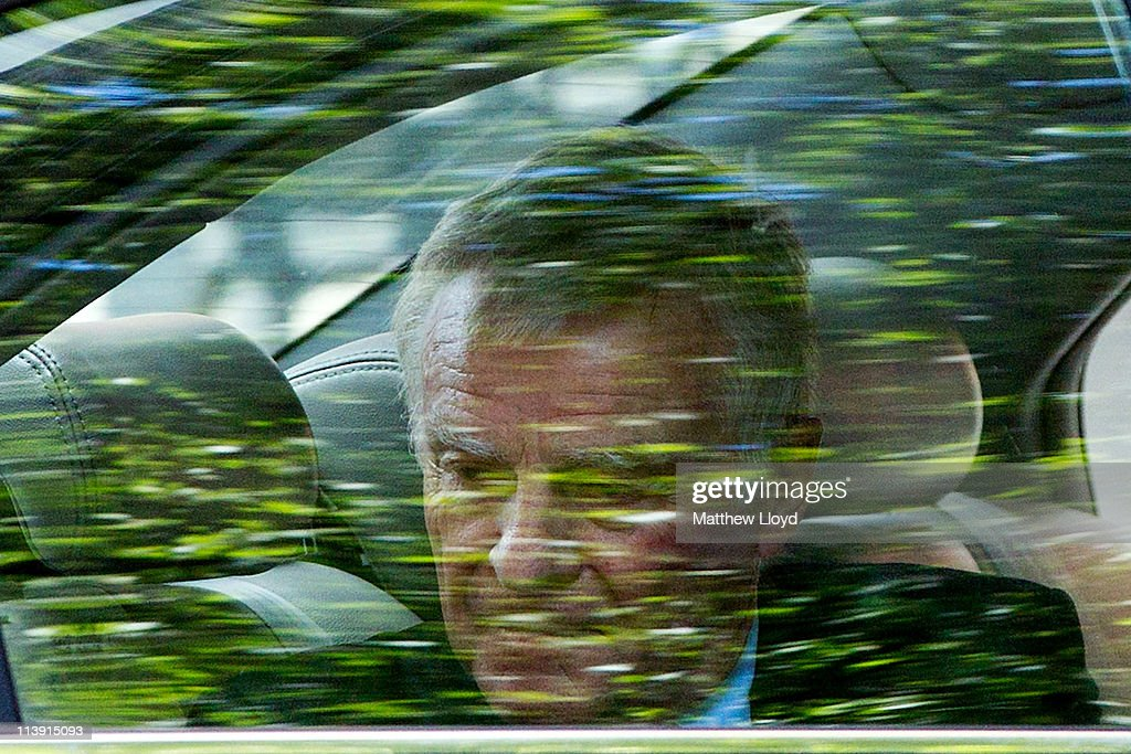 Max Mosley Arrives At Millbank After He Lost His European Court Of Human Rights Privacy Bid : News Photo