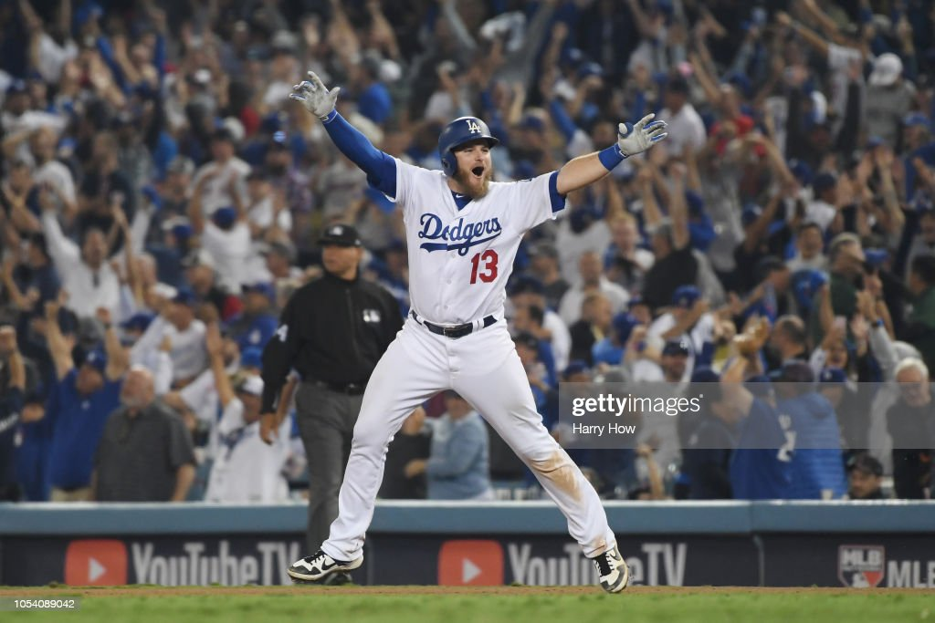 World Series - Boston Red Sox v Los Angeles Dodgers - Game Three : News Photo