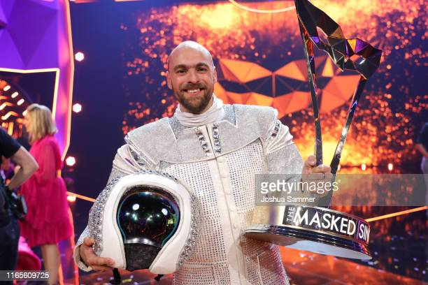 Max Mutzke at the The Masked Singer finals at Coloneum on August 01 2019 in Cologne Germany